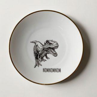 Wandteller-T-Rex